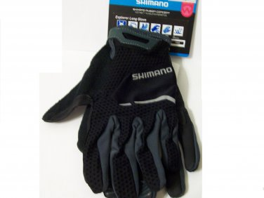 Shimano Gloves size M cycling black women bike sport jrs girls new
