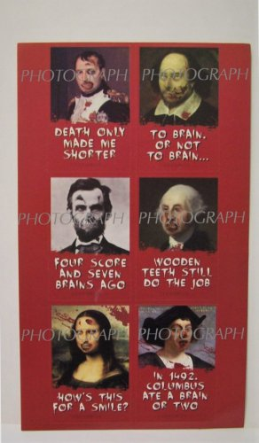 Stickers Set Classic Paintings art showcase zombie quote halloween new