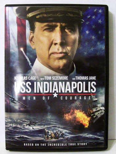 USS Indianapolis: Men of Courage DVD war