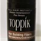 Toppik Hair Building Fibers 3 gram medium brown new