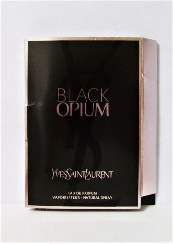 Yves Saint Laurant Black Opium fragrance 1.5 ml spray purse travel new