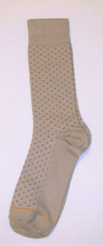 GT Goldtoe Socks size 10-13 / 6.5 tan pattern men