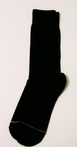 GT Goldtoe Socks size 10-13 / 6.5 black men