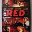 Red DVD action
