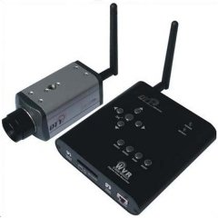 2.4G Wireless Motion Detect Record System with One CCD Camera