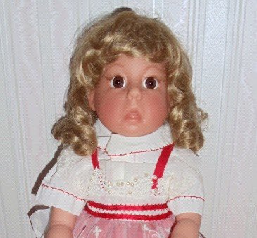 "Durable Quality Vinyl 18"" Middleton Collectible Doll."