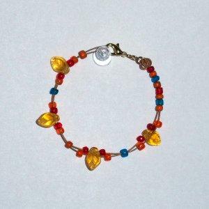 """Dream Feather D String Bracelet"" 19"