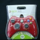 Red OFFICIAL MICROSOFT FOR XBOX 360 PC BLACK WIRED CONTROLLER  free shipping