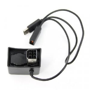 Kinect Power Saver Transfer Adapter for Fat Xbox 360  free shipping