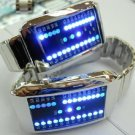 New 29 Blue LED Digital Date Sports Wrist Unisex Watch free shipping