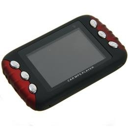 2.4 Inch 2GB Car MP4 MP5 Player with FM Transmitter free shipping