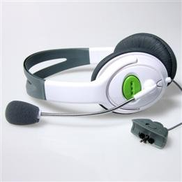 Headset Headphone with Microphone for Microsoft XBOX 360 Live free shipping