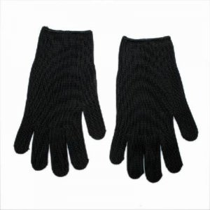 CUT-RESISTANT ANTI CUT TEARING ABRASION SAFETY GLOVES NEW BLACK free shipping