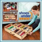 Shoe Organizer Storage Closet Under Bed free shipping
