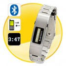 Bluetooth Bracelet w/Vibration Function + Digital Time Display new free shipping