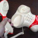 Cute Cartoon Women Model Corded Telephones free shipping