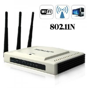 802.11N Wireless Router - 300Mbps (3 Antennas Edition)  free shipping