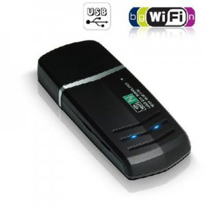 Wireless 802.11N USB Adapter - Hi-Speed WiFi Internet Connection free shipping