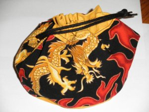 Gold Dragon Bag