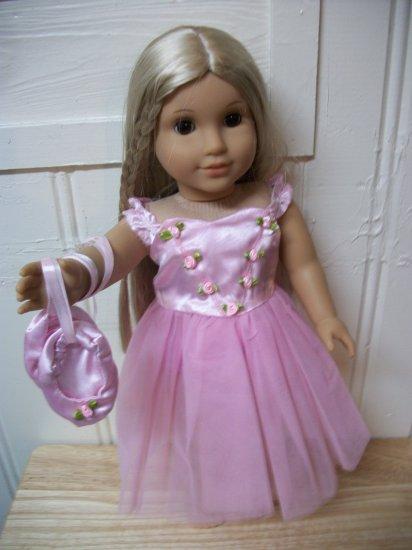 Pink Nutcracker Ballerina set for American Girl 18 inch dolls