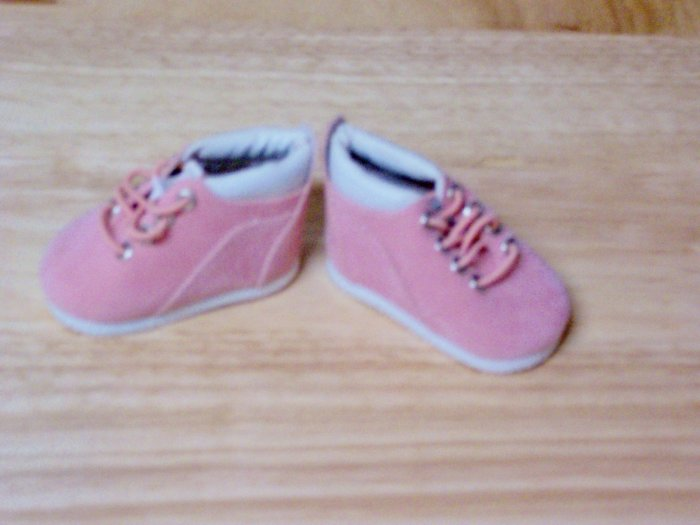 Pink Low Top Boots for American Girl 18 inch dolls