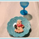 Blue Place Setting for American Girl 18 Inch Dolls