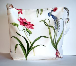 Flowers of Spring tote