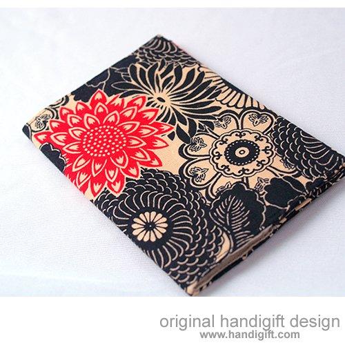 """Japanese Flora"" Passport Cover"