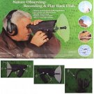 Electronic Listening and Digital Recording Device - Observe Birds & Animals at 8X Magnification