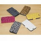 Leopard Pattern Leather Flip Case Pouch Cover for Samsung i9300 S3