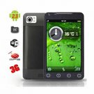 S.I.S.E 5.0 Inch TFT Touch Screen Dual SIM Unlocked Android 2.3 Mobile Phone