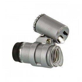 Mini Brass Microscope with Illuminator