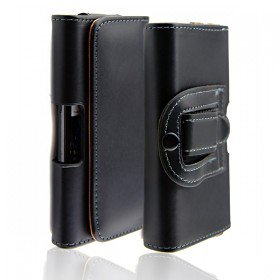 Holster Style Leather Case Cover for Samsung Galaxy S4