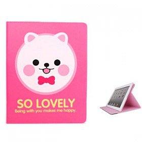 Catoon Series Stand Leather Case Cover for iPad 2 & 3