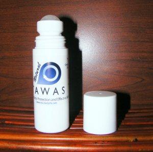 NATURAL TAWAS CRYSTAL DEODORANT LIQUID ROLL-ON , 3.0 fl. oz.
