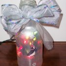 Small Lighted Christmas Bottle