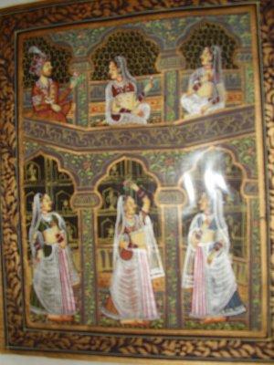 Mughal Miniature Painting SAK17