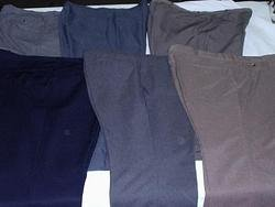 Wholesale dress pants you get for as low as $2.29 a pair.