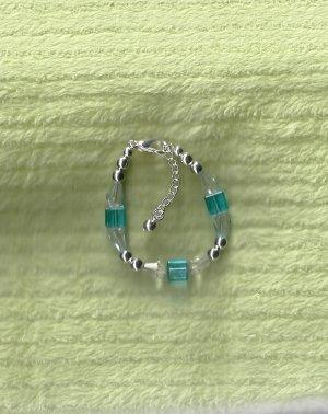 Turquiose Crystal Infant Bracelet