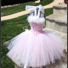 All the Bling Pink & White Ballet Princess Dress