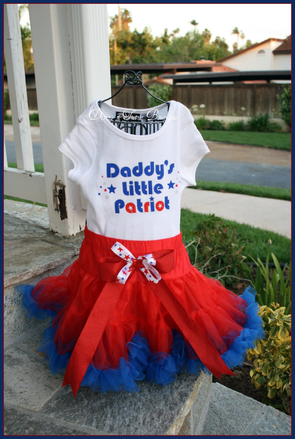 Daddy's Little Patriot - 2t