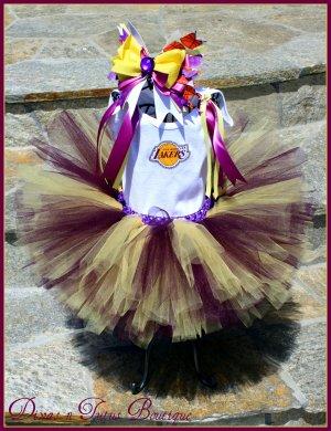 Lakers Fan Tutu Set