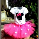 Pink Disney Inspired Minnie Tutu