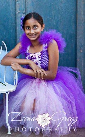 Princess Inspired Tutu Dress -Rapunzel