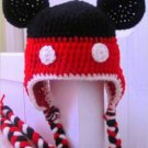 Disney Inspired Mickey Mouse Hat -Crochet Hat - for Baby to Kids