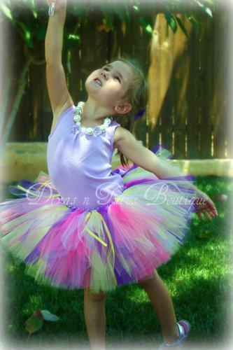 Tangled Rapunzel Disney Inspired Tutu Set