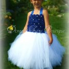 Royal Blue Princess Dress