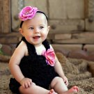 Black Romper 1-3yrs
