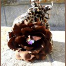 Cheetah Beanies- newborn to 6 months