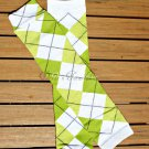 Green Argyle Leg/Arm Warmer